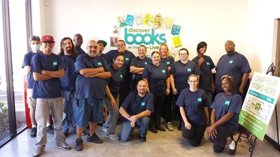 Image of Discover Books staff.