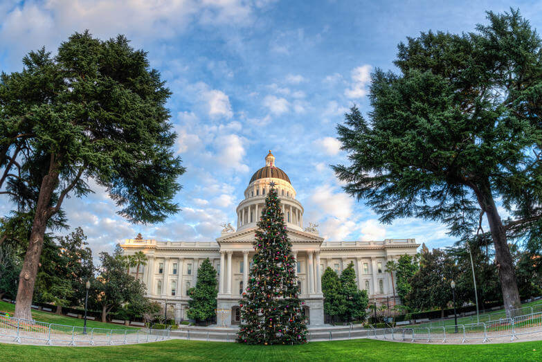 Image of Sacramento, California.