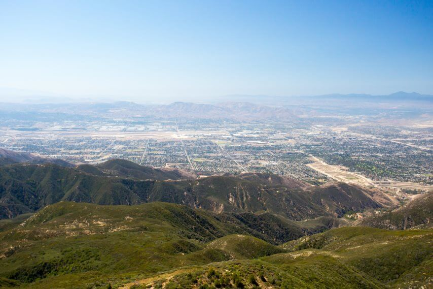 Image of San Bernardino, California.