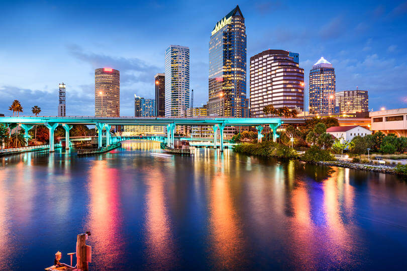 Image of Tampa, Florida.