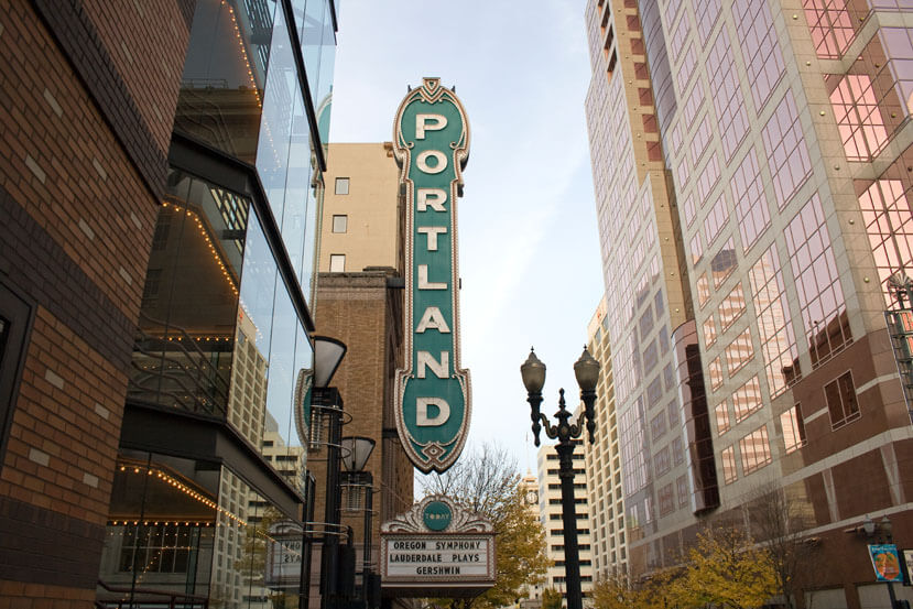 Image of Portland, Oregon.