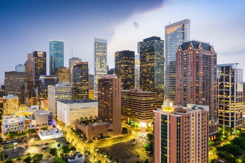 Image of Houston, Texas.