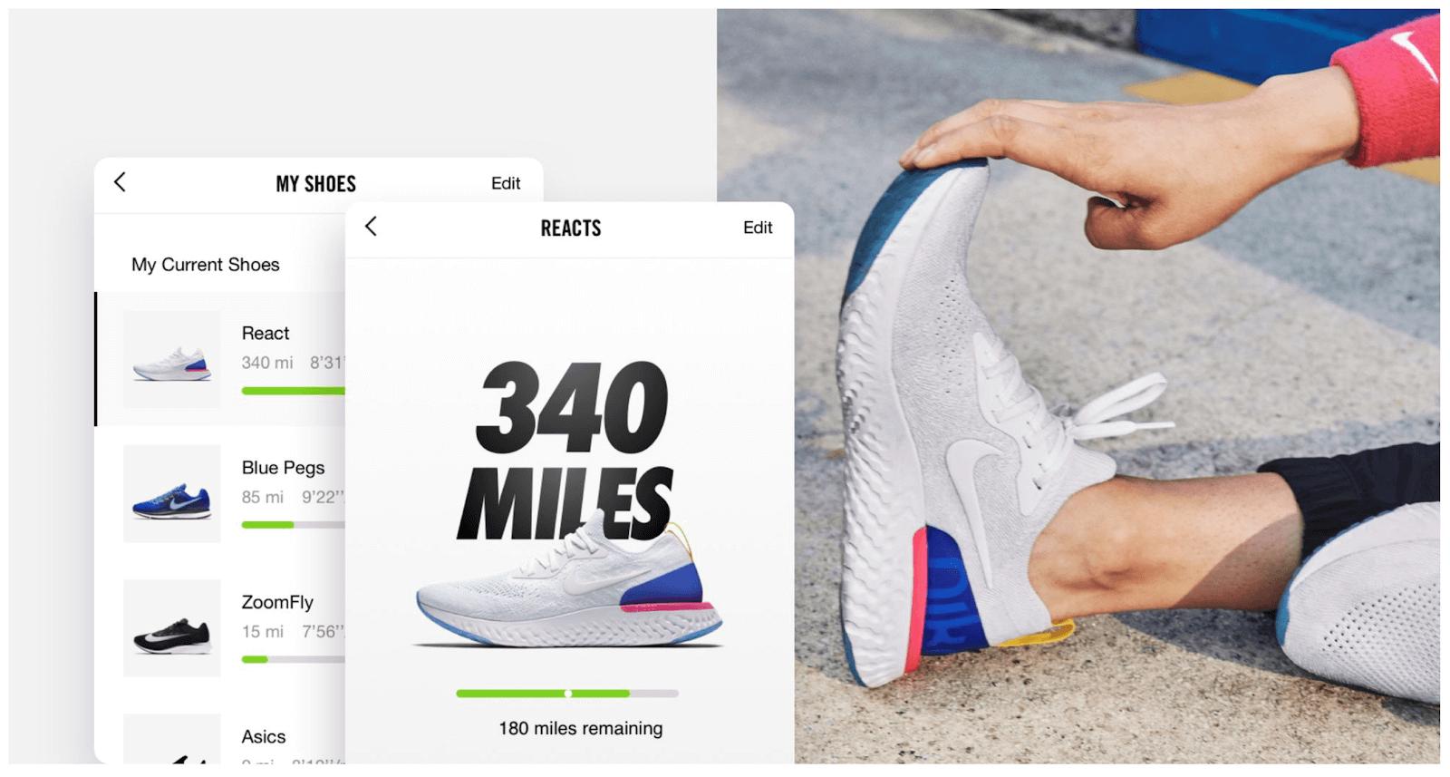 Afbeelding van Nike schoenen.