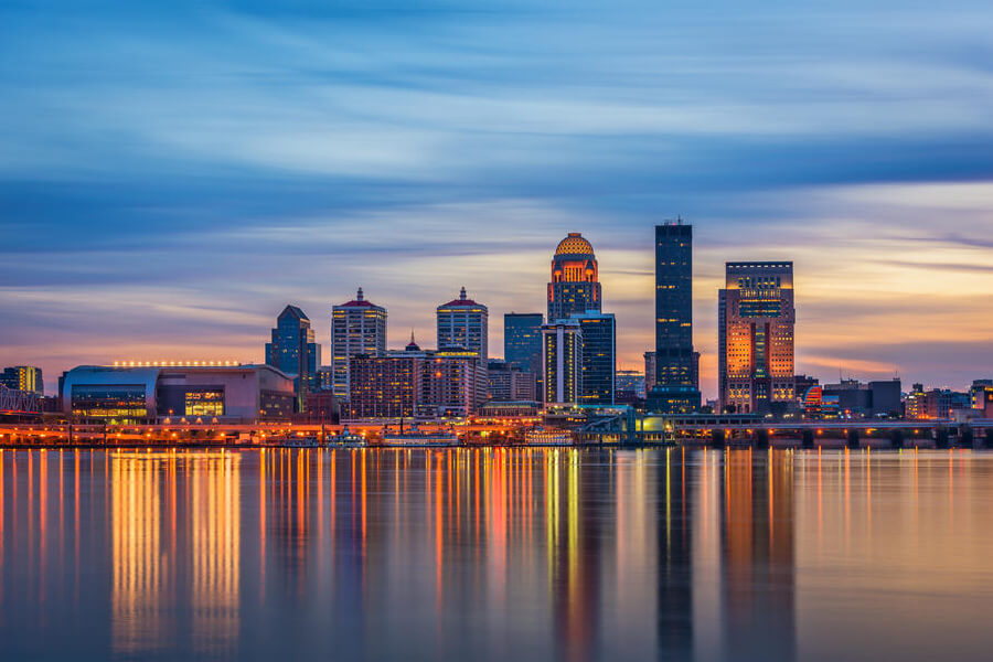 Image of Louisville, Kentucky.