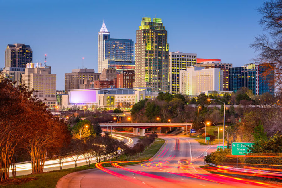 Image of Raleigh, North Carolina.