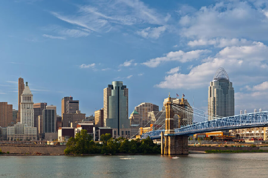 Image of Cincinnati, Ohio.