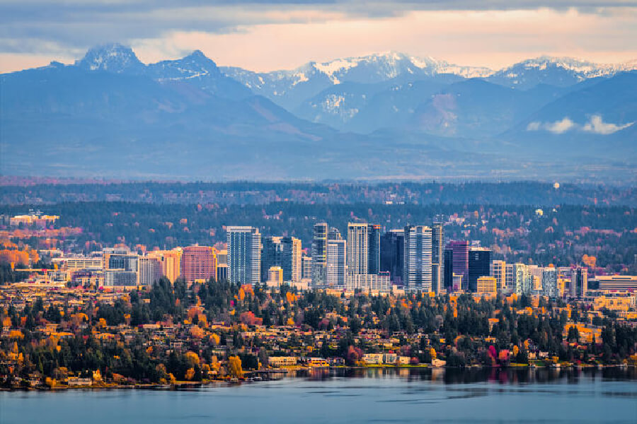 Image fo Bellevue, Washington.