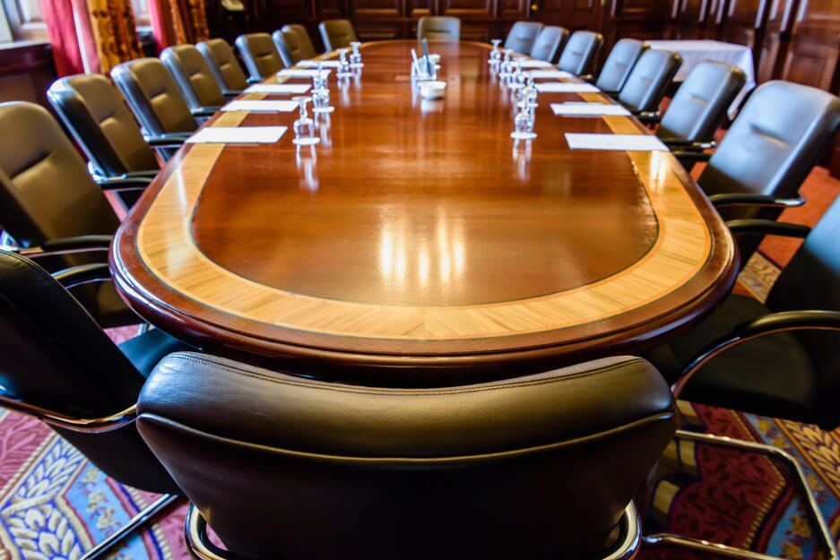 Image of an executive conference room.