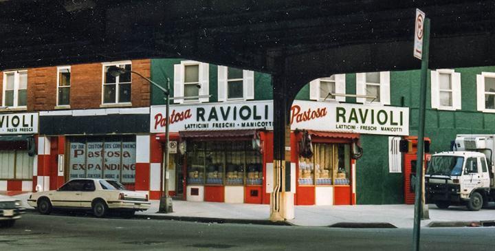 Image of original Pastosa storefront.