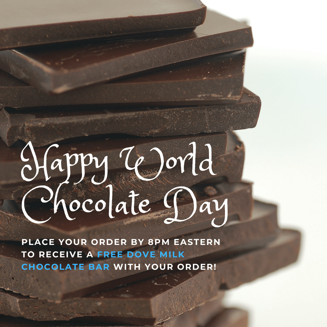 Example of a World Chocolate Day giveaway.