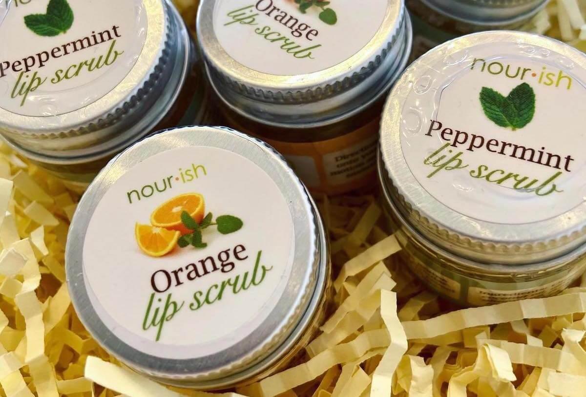 Image of Nourish Natural Bath Products.
