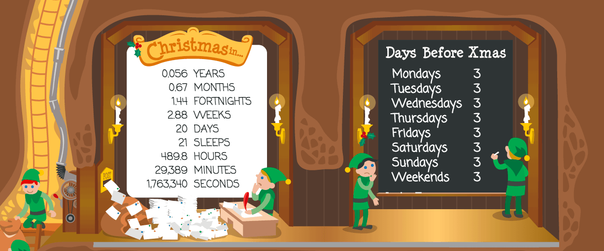 3 Free Christmas Countdown Clocks for your Online Store