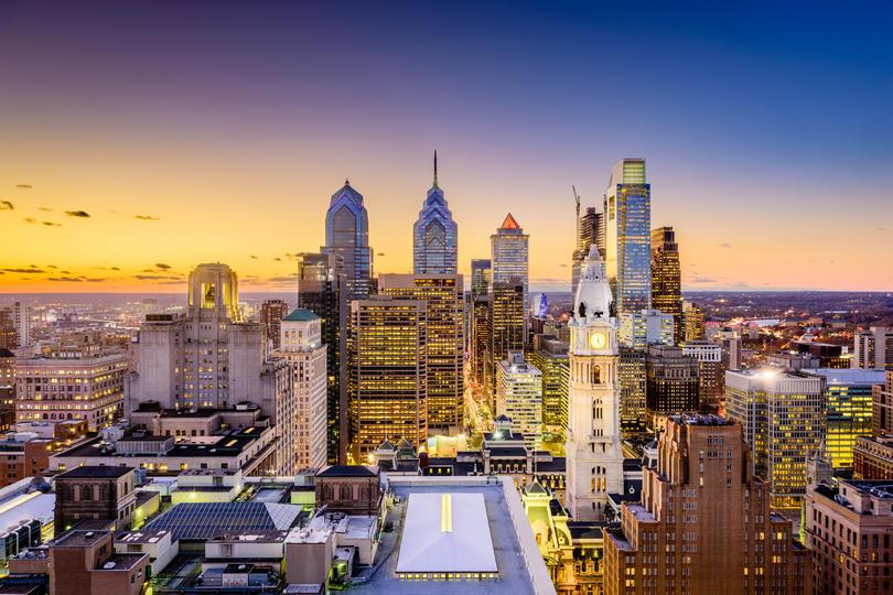 Photo showing the Philadelphia skyline