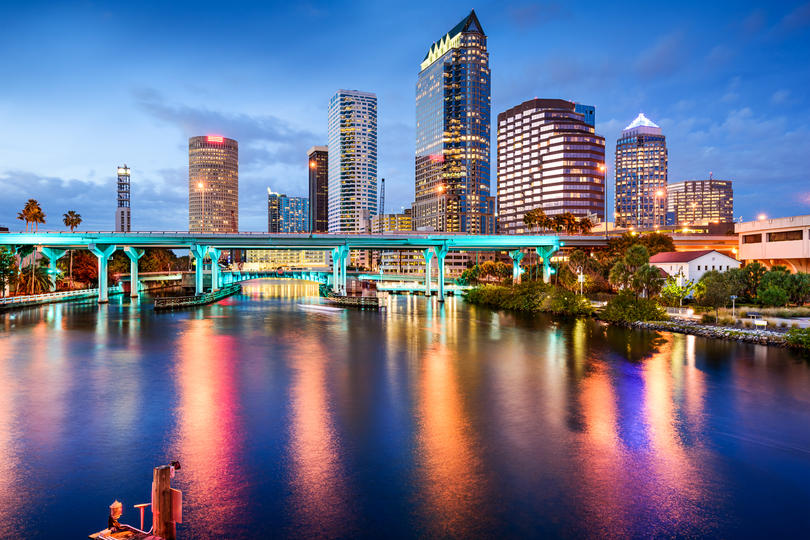Photo showing the Tampa skyline