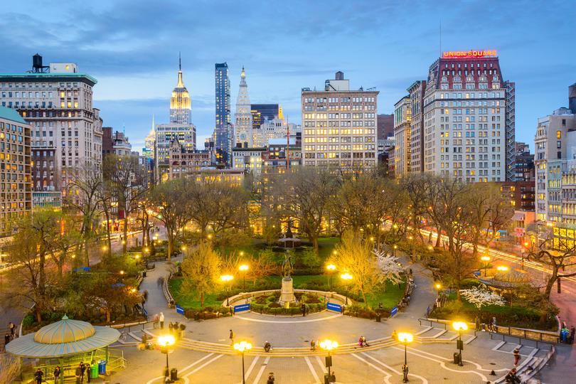 Photo showing the skyline of New York-Newark-Jersey City