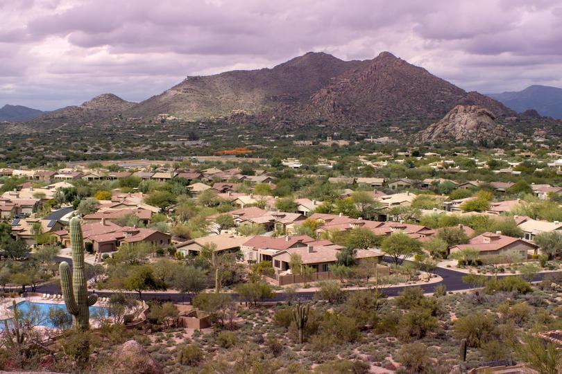 Mesa AZ skyline