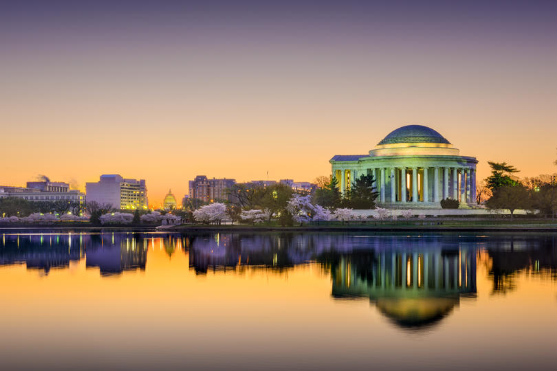 Photo of Washington DC skyline