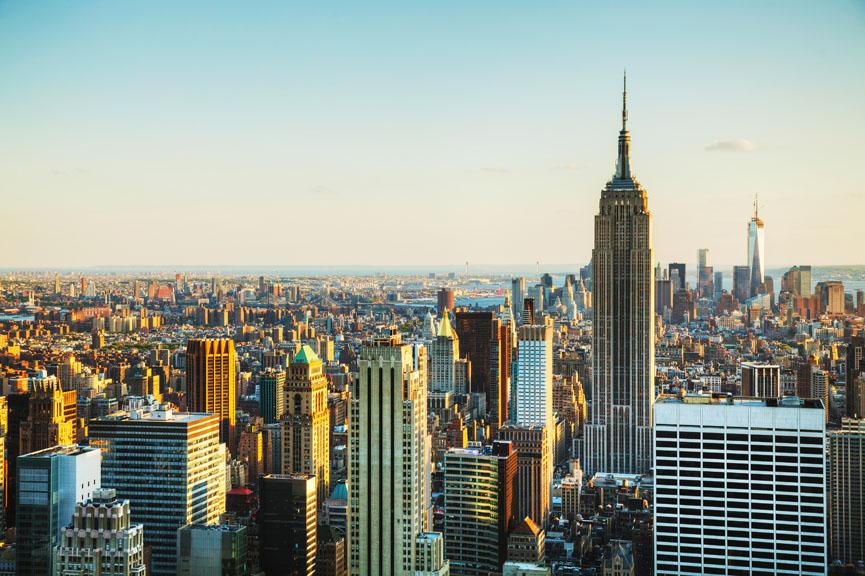 Photo of New York skyline