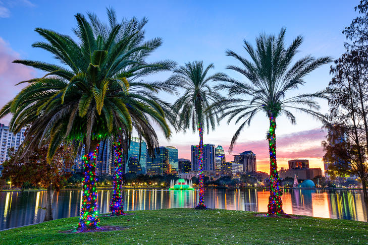 Photo of Orlando skyline