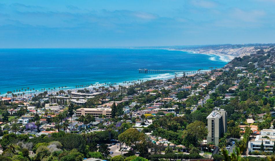 Photo of San Diego skyline