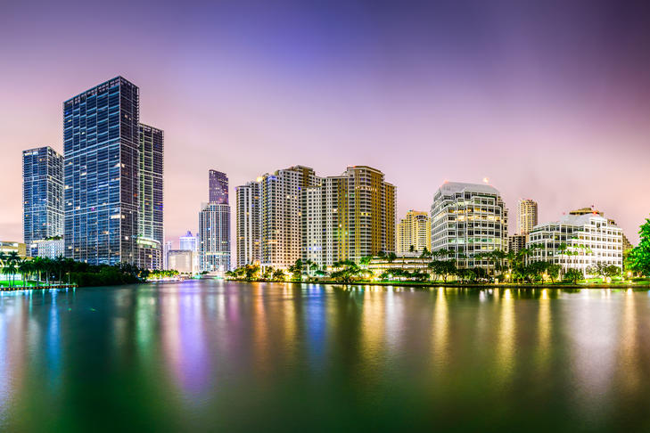 Image of the Miami skyline