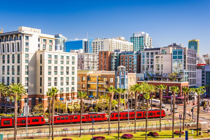 San Diego-Carlsbad skyline