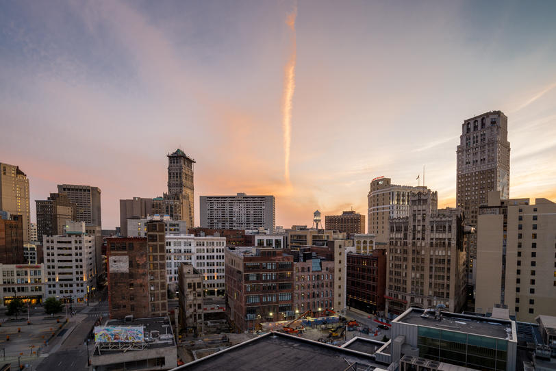 Photo of Detroit skyline