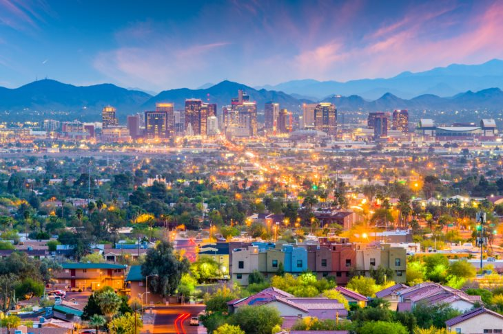 Photo of Phoenix skyline