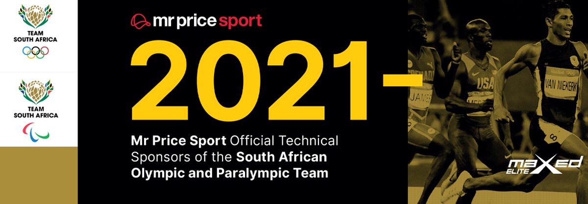 The Olympic Games - Team South Africa and Mr Price Sport