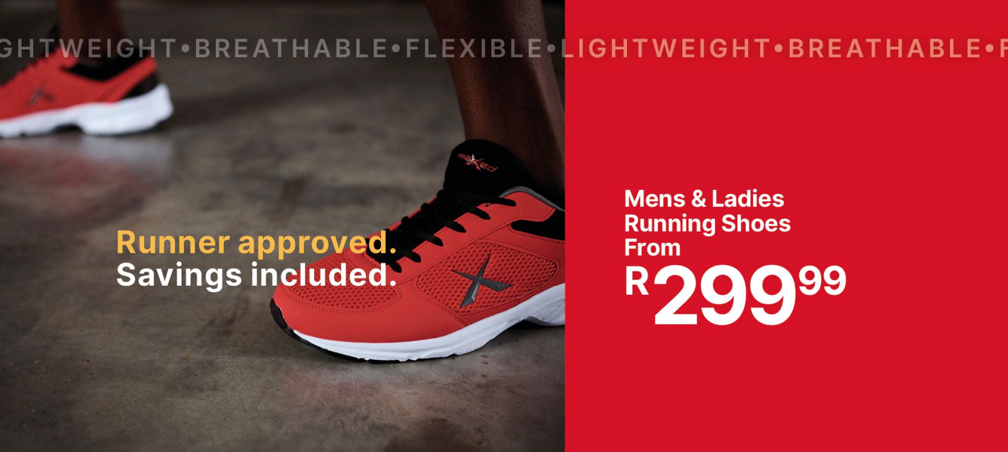 Running - Footwear - Mens