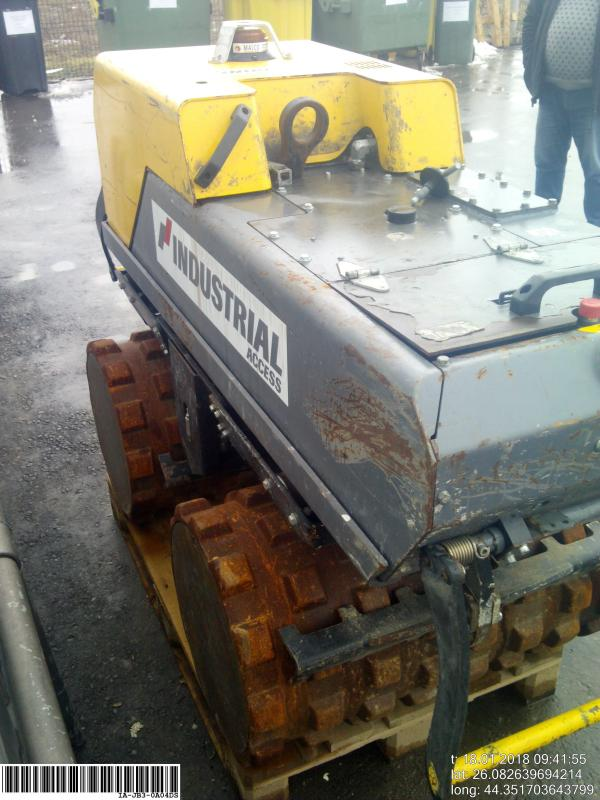 Thumbnail picture of a ATLAS COPCO LP8504 Trench Roller