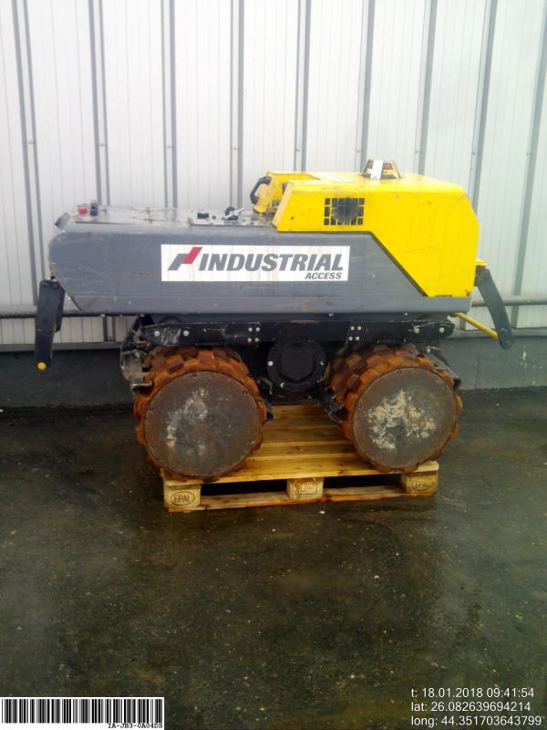 Picture of a ATLAS COPCO LP8504 Trench Roller