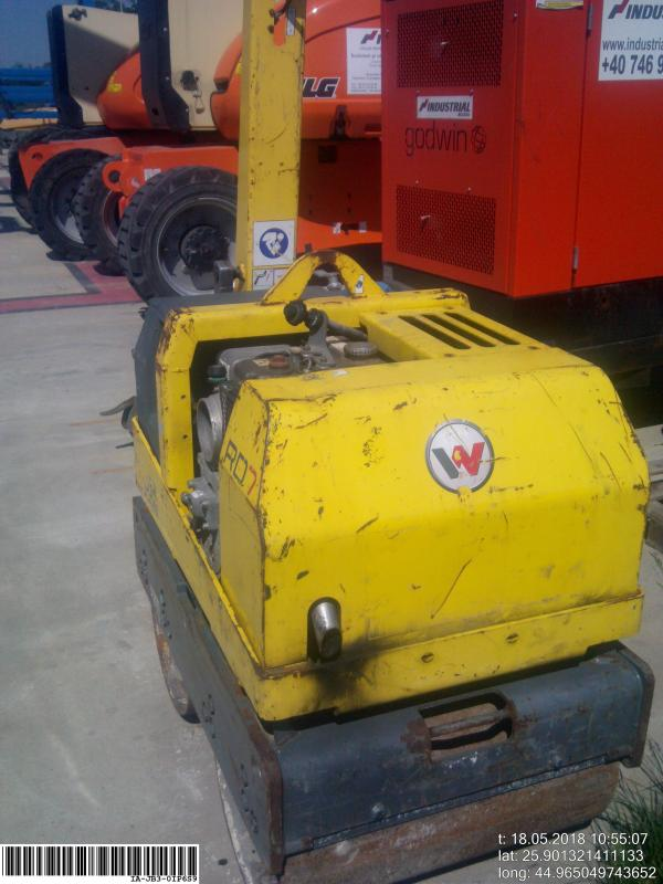 Picture of a WACKER RD 7H -ES Roller