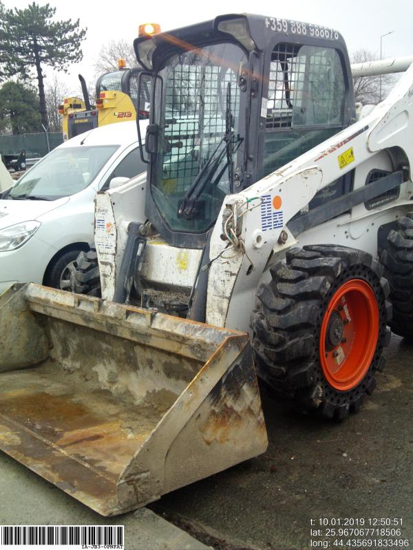 Picture of a BOBCAT S850