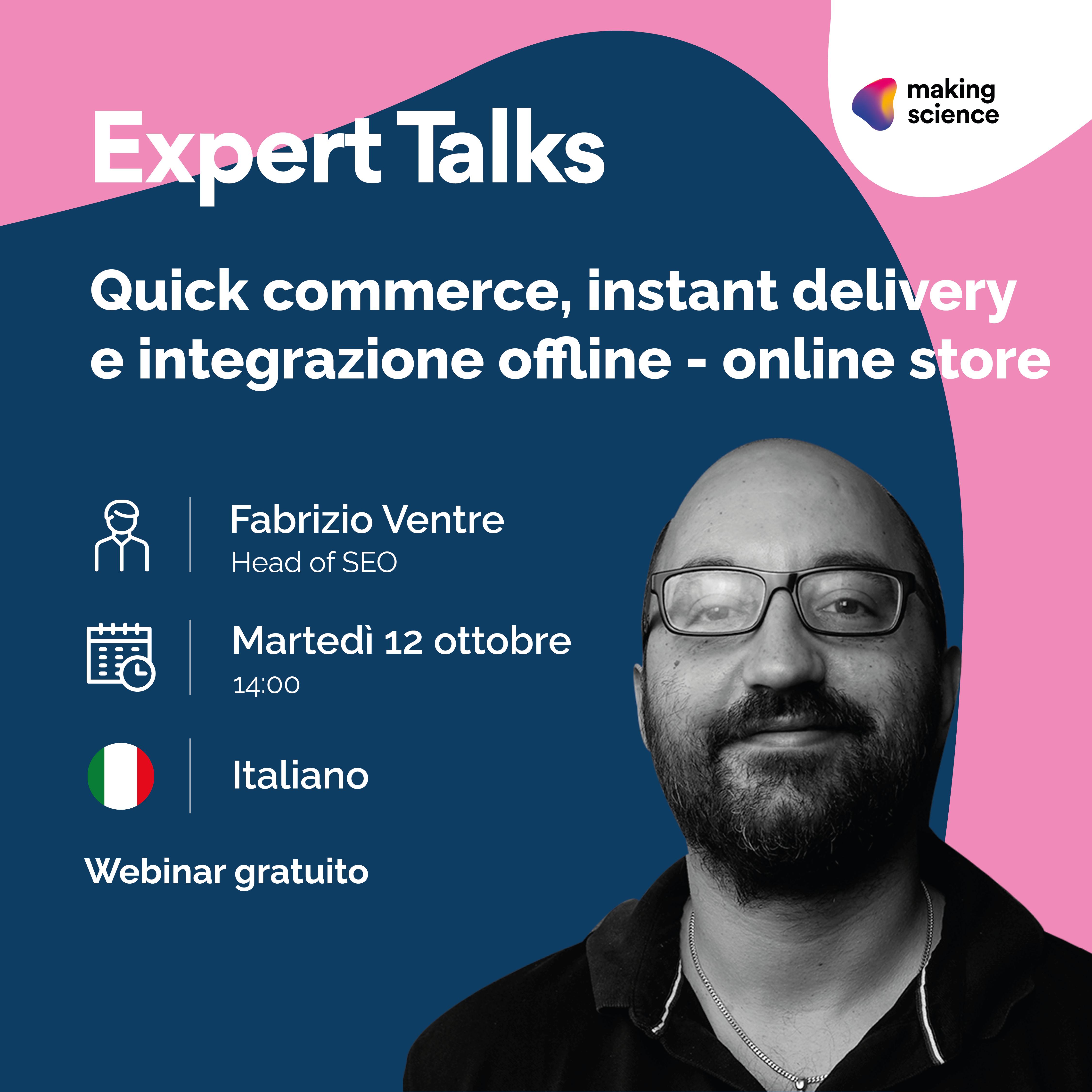 Quick commerce webinar