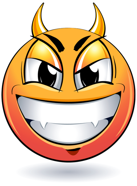 смайлик дьявол улыбка Smiley Devil Download Free Render