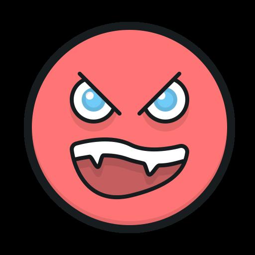 angry face, smiley, angry emoji, смайл, смайлик, злой эмодзи, емодзи