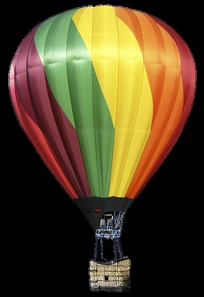 картинка воздушный шар с корзиной