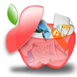 Apple Full Fruit Trash Can Download Free Icon Papeleras Frutales On Artage Io