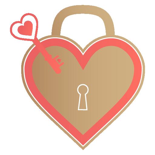 unlock my heart icon