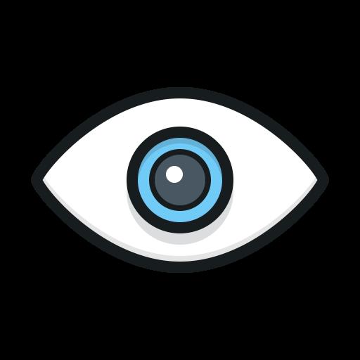eye, view, просмотр, глаз