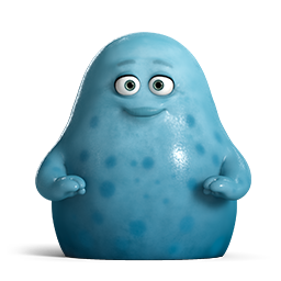 Cute Blue Monsters University Icon Download Free Icon Monster University Icons On Artage Io