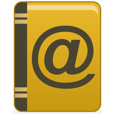 address, book