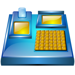 electronic, billing, machine, 256