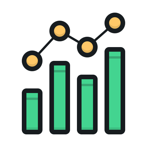 trends, graph, chart, increase, scale, diagram, диаграмма, график, рост, тенденции, направление, шкала