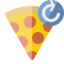 pizza, refresh