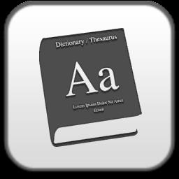 dictionary, словарь