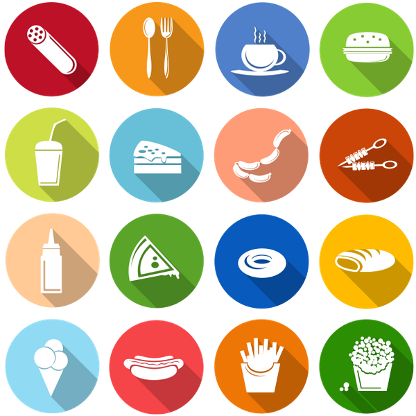 набор иконок, флэт иконки, иконки еда и напитки, set of icons, flat icons, icons food and drinks, satz ikonen, flache ikonen, ikonenlebensmittel und getränke, ensemble d'icônes, icônes plats, icônes nourriture et boissons, conjunto de iconos, iconos planos, iconos alimentos y bebidas, set di icone, icone piatte, icone cibo e bevande, conjunto de ícones, ícones planos, ícones de alimentos e bebidas, набір іконок, флет іконки, іконки їжа і напої