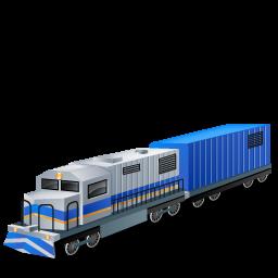 дизельный поезд, diesel lootive, boxcar, blue, diesel train, locomotive, transport, дизельний потяг, локомотив, транспорт