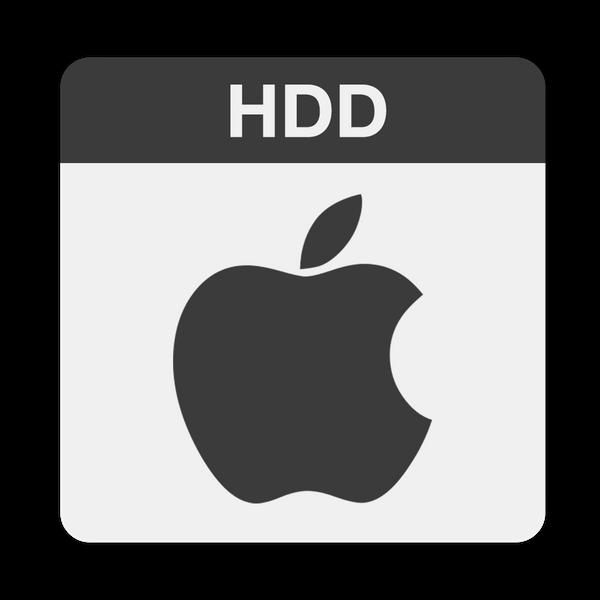 hd d apple